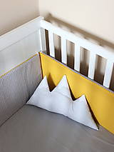 Textil - Žlto-sivé hniezdo - 6298711_