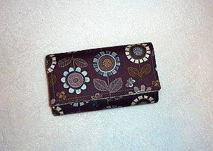 Peňaženky - Peňaženka - Honey Meadow. - 6305420_