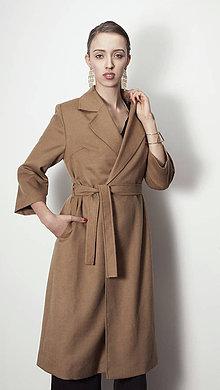 Kabáty - Kabát YVONNA - mohér (S-XXL) - 6316188_