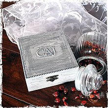 Krabičky - Krabička na čaj - 6315787_