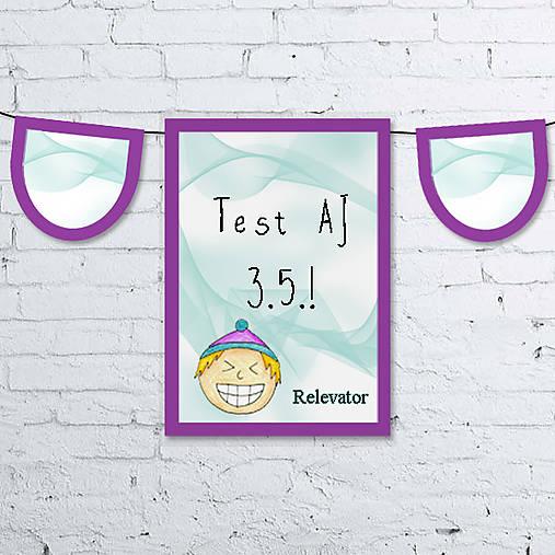 Girlanda - učebná pomôcka 8