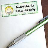 - Vtipná menovka na písomku - 100% záruka kvality 9 - 6327144_