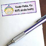 - Vtipná menovka na písomku - 100% záruka kvality 10 - 6327145_