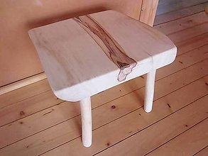 Nábytok - Štýlový škandinávsky stolček - 6332021_