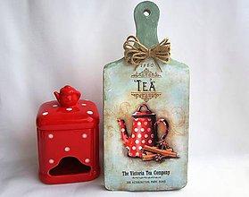 Dekorácie - Lopárik -tea - 6339006_