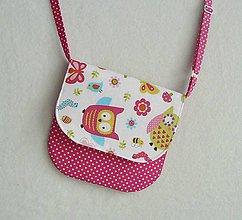 Detské tašky - Detská kabelka sovičková č.1 - 6339653_