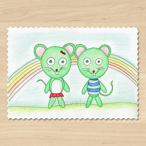 Zvieratká z Dúhovej krajiny - myšiak a myška