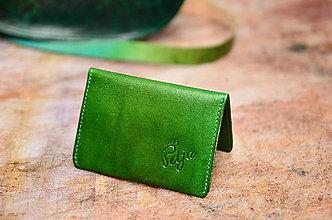Peňaženky - peňaženka kožená MINIMANY - 6351706_