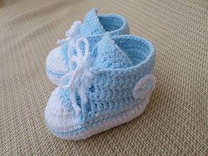 Topánočky - frajerské modručké :) - 6350480_