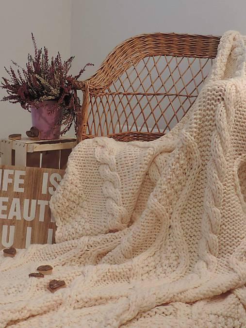 Úžitkový textil - Maxi deka, prehoz  - 6353717_