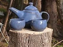 Nádoby - Čajníček pre dvoch  - 6360066_