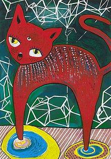 Obrazy - Mačka - 6374593_
