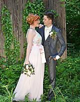 Sukne - šifónová sukňa na pred svadobné fotenie  - 6387126_