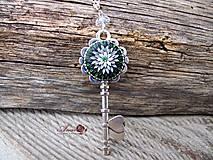 - B119 náhrdelník Kľúč k tvojmu srdcu - 6397342_