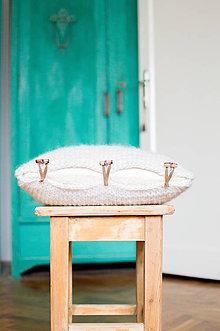 Úžitkový textil - Vlnená obliečka na vankúš