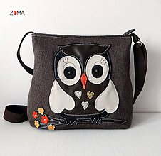 Kabelky - ELLIE SMALL Owl - 6412281_