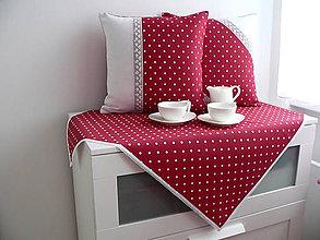 Úžitkový textil - Obrus bodka... - 6427681_