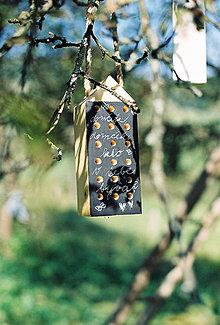 Dekorácie - Včelí kRAJ: Drevený domček pre hmyz - tabuľový - 6424370_