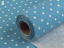 Úžitkový textil - bodkované štóly na svadobnú výzdobu  - 6443831_