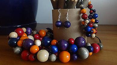Sady šperkov - Modrý Portugal - sada 3v1 - 6458386_