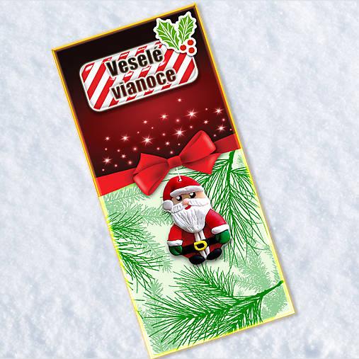 Dlhá vianočná pohľadnica - Santa Claus