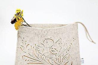 Kabelky - Malá zlatá majolika - 6481734_