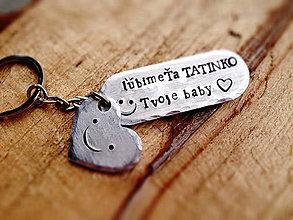 Kľúčenky - ..pre tata :) / 2mm hrúbka - 6487394_