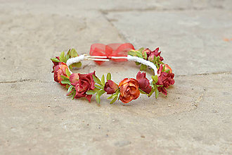 Ozdoby do vlasov - Čajové ruže - 6488024_