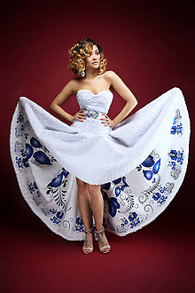 Šaty - šaty FOLK - 6484543_