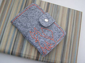 Peňaženky - Obal na doklady - líška - 6485825_