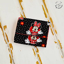 Peňaženky - Peňaženka-Minnie s nápisom Dnes si nádherná - 6487275_
