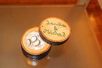 Darčeky pre svadobčanov - Drevená šperkovnička na zásnuby a svadbu :-) - 6494762_