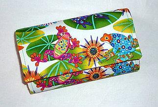 Peňaženky - Peňaženka - Žabka k žabke. - 6501902_