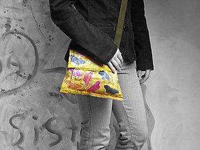 Kabelky - Originál malovaná taška - 6502871_