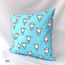 Úžitkový textil - Obliečka na vankúš s ovečkami - 6508066_