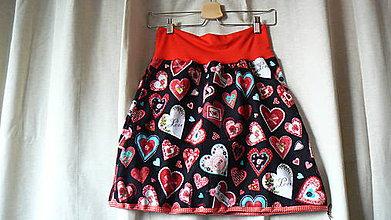 Sukne - sukňa menčestrová láska - 6516559_