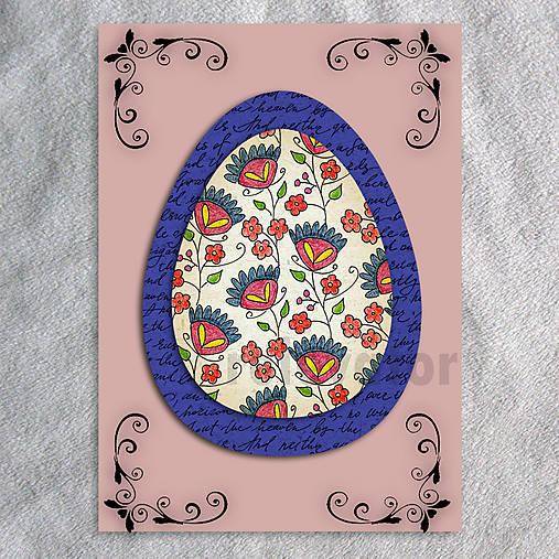 Veľkonočné vajce - pohľadnica simple (text) 7