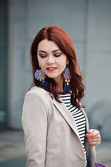 Kabáty - Krátke sako svetlo béžovej farby - 6526510_