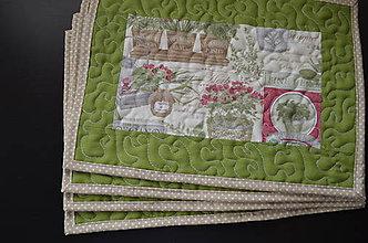 Úžitkový textil - Jarné prestieranie - 6530800_