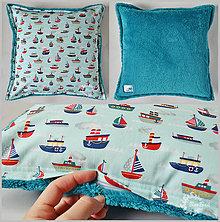 Úžitkový textil - Huňatá návliečka na vankúš s lodičkami - 6535008_