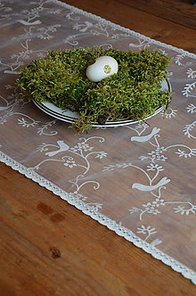Úžitkový textil - Štóla vtáčik - 6541570_