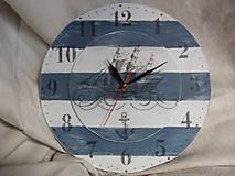 Hodiny - námornícke hodiny - 6540879_