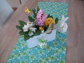 Úžitkový textil - Kvetinová štóla - 6548014_