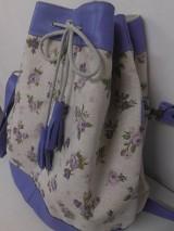 Kabelky - Violet Roses Bag  - 6557716_
