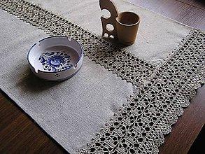 Úžitkový textil - *** Ľanová štôla II. - z truhlice