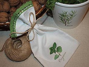 Úžitkový textil - ...oregano... - 6559007_