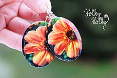 Náušnice - Kvety - 6574863_