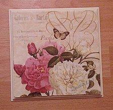 Obrázky - Vintage kvety - 6583823_