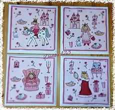 Dekorácie - Obrázky pre dievčatko - 6592152_
