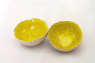 Nádoby - miska vajíčková / zlato - 6597453_